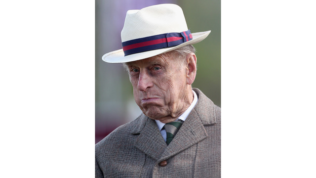 Prince Philip at 2012 horse show52736008