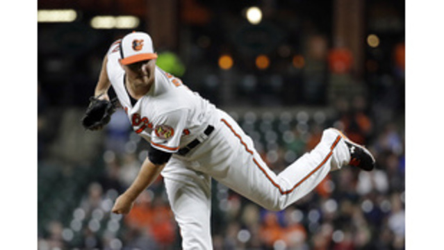O's closer Britton (forearm) placed back on DL