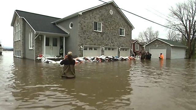 Canada floods: 3 missing, 1 dead in Quebec and British Columbia