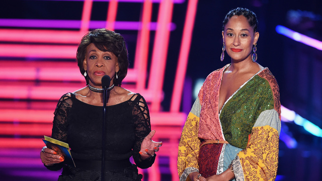 Maxine waters, Tracee eliss ross MTV movie awards71502879