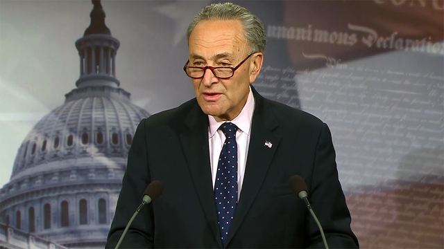 Schumer calls for special prosecutor in wake of Comey firing