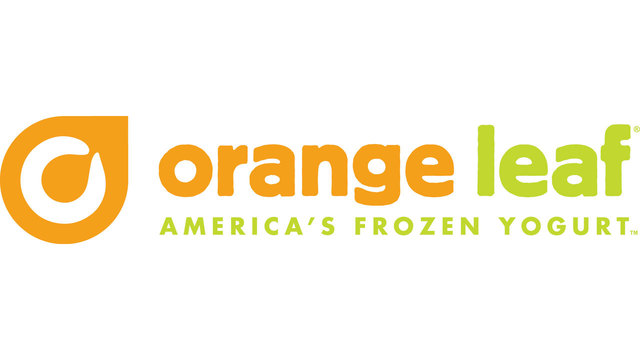 Orange Leaf frozen yogurt logo33825264