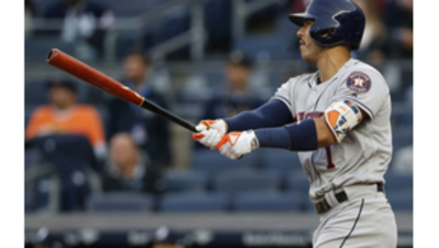 Astros nail Ellsbury, stop Yankees 3-2 for 4th win in row