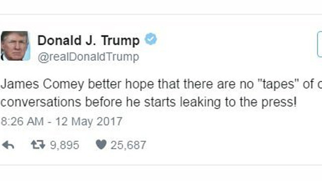 Trump threatens Comey in tweet_1494598760741.jpg35268894
