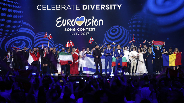Eurovision Song Contest fans await grand final in Kiev