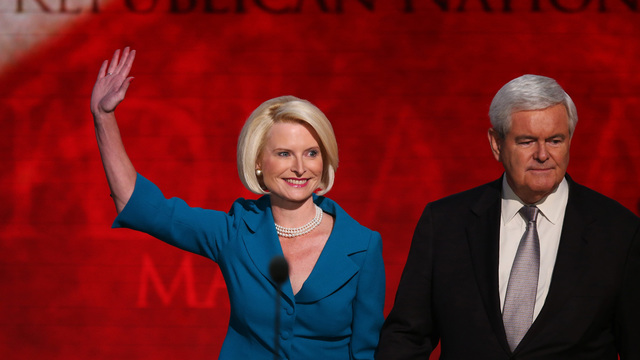 Gingrich's Wife to Be Named Ambassador to Vatican