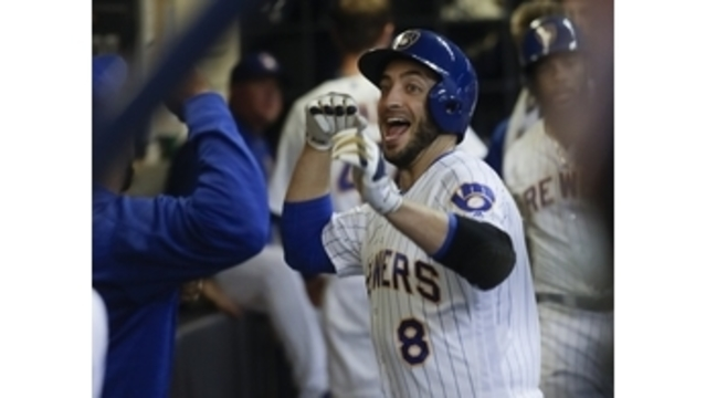 Bryant hits 2 HRs to back Arrieta; Cubs rout Brewers 13