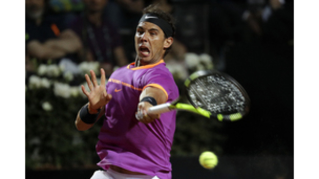 Nadal's run ends at 17 in Rome quarters