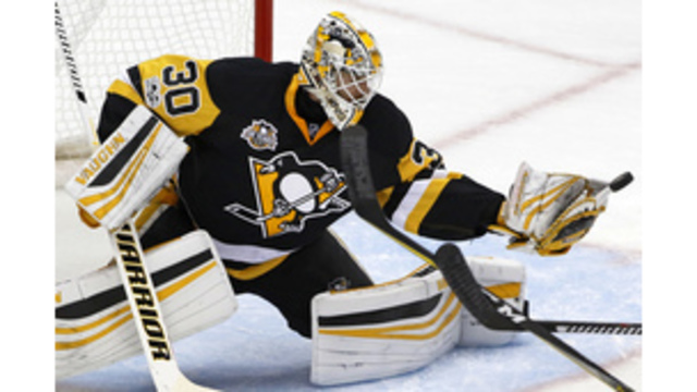 Pens turn to Murray in net for Game 4