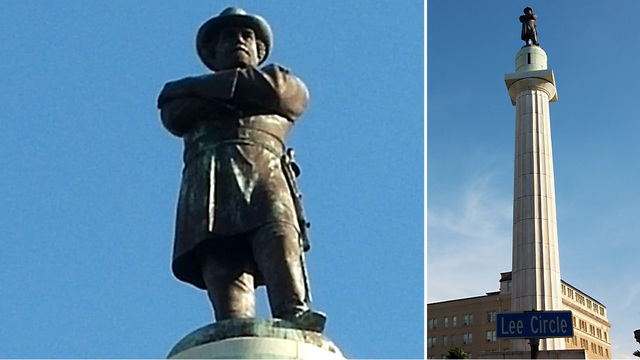 Final Confederate statue coming down in New Orleans