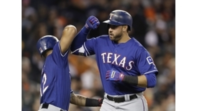 Tigers snap Rangers' streak at 10, beat Texas 9-3