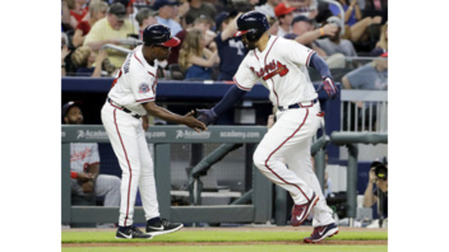 Braves score 3 in 8th to beat Nationals