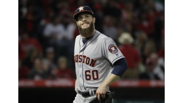 Houston ace Keuchel placed on DL with pinched nerve in neck