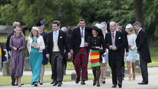 Guests arrive at Pippa Middleton wedding18785376