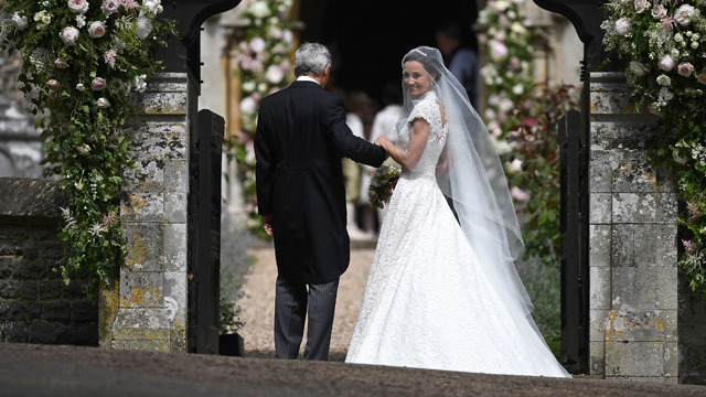 Pippa Middleton with her father46810917