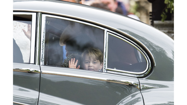 Prince George after Pippa Middleton wedding93173861