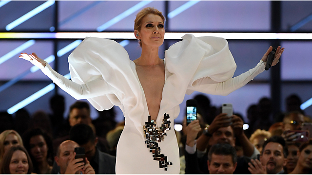 Celine Dion Poses Completely Naked for 'Vogue'