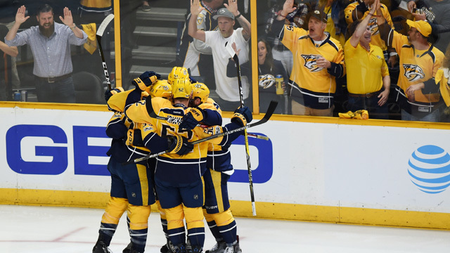 Predators punch ticket to Cup finals