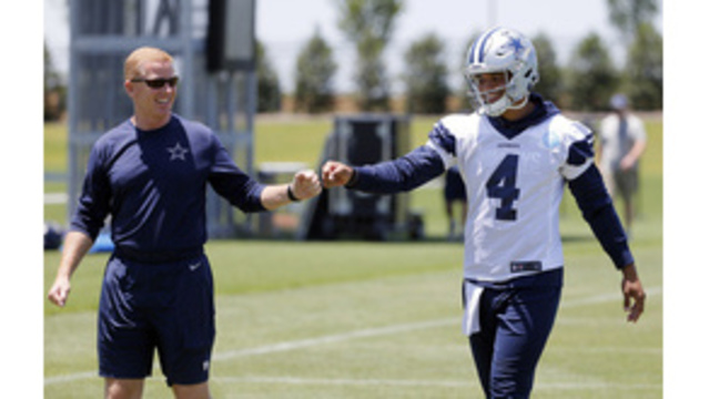 He's got the reps: Prescott takes offseason lead for Cowboys