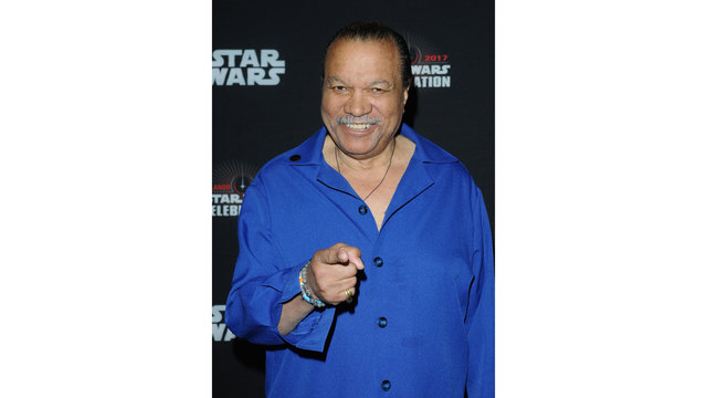 Billy Dee Williams at Star Wars Celebration 201705864850