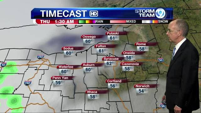 Storm Team Forecast Jim Teske LocalSYR NewsChannel WSYR - Wsyr weather forecast