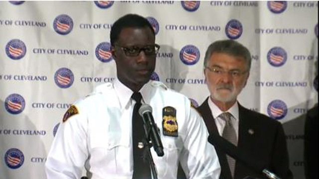 Cleveland fires 1 officer, suspends 2nd in Rice shooting