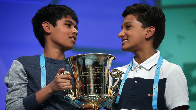 2016 co-champions Scripps National Spelling Bee88300299