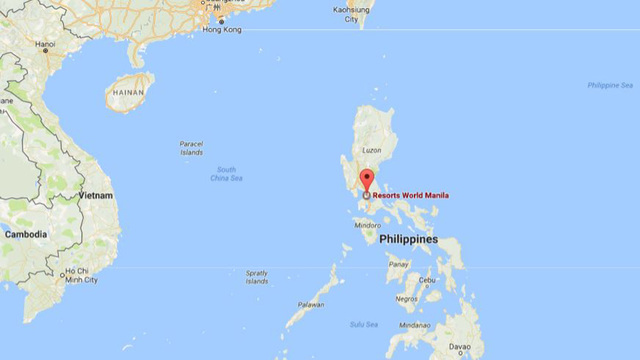 Robbery suspected in Manila casino attack