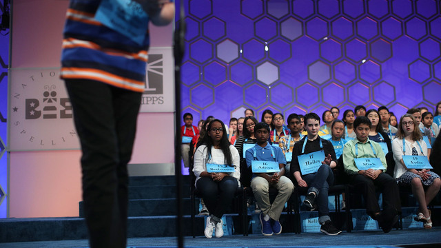 Scripps National Spelling Bee 2017 secondround88503816