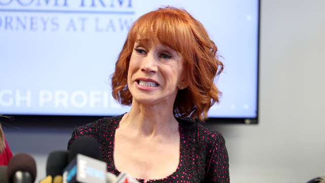 More venues cancel Kathy Griffin shows