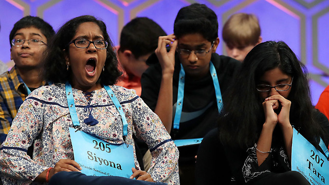 Spelling Bee Champ Shows AP How it's Done