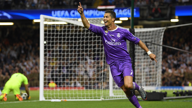 Two-goal Ronaldo gives Real 12th European title