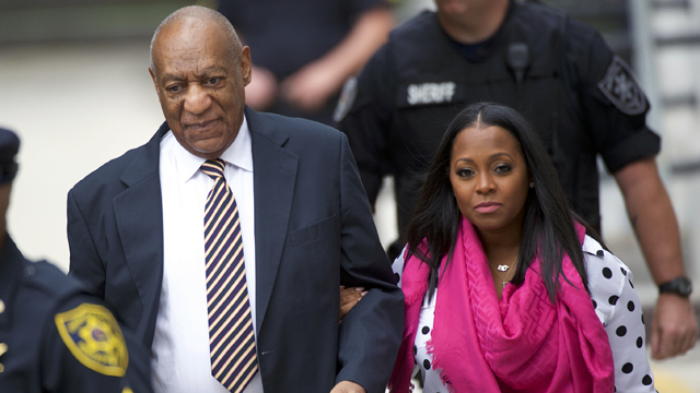 Daughter from 'The Cosby Show' stands by comedian at trial