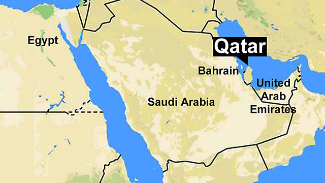 Rift Saudi UAE Bahrain Egypt Cut Diplomatic Ties - Map of qatar and egypt