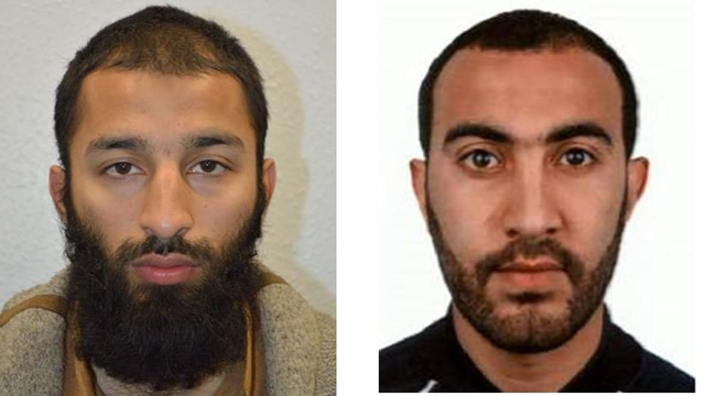 Police name 2 of 3 London attackers