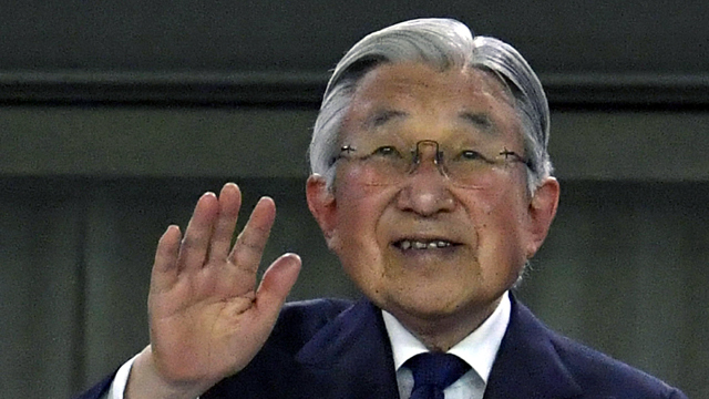 Japan enacts law allowing Emperor Akihito to abdicate