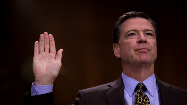 James Comey delivers keynote address to Howard University students