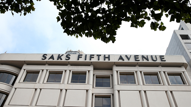 Saks Fifth Avenue storefront store68772869