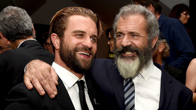 Mel Gibson and son Milo in October 201649975935