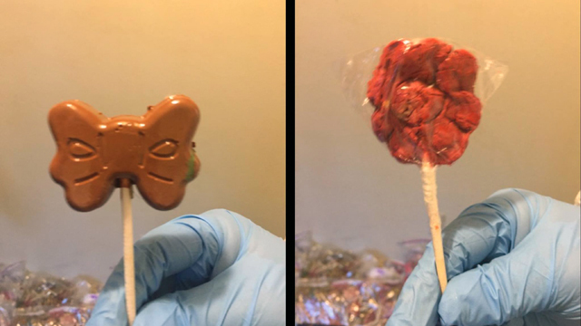 Texas police arrest suspects with $1 million worth of meth-laced lollipops