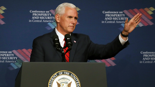 Pence calls hiring of counsel 'routine'