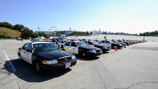 LAPD cadets arrested after stealing patrol cars, police say