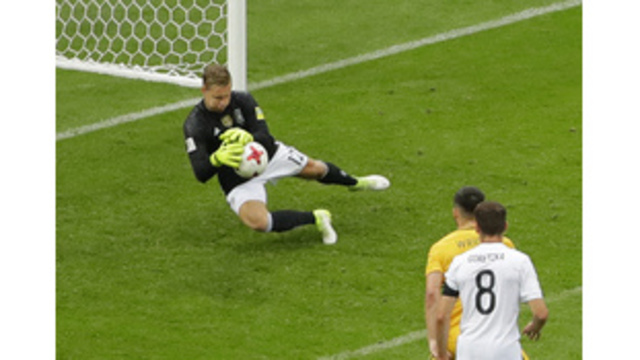 Germany escapes despite 2 blunders by GK