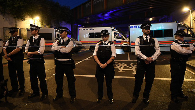 Van Strikes Pedestrians Outside Mosque in London