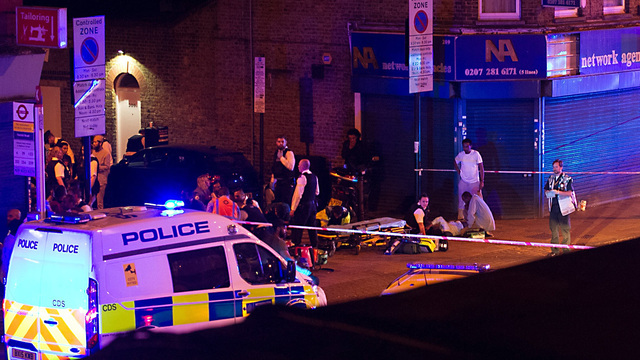 Police are treating London deadly van incident near mosque as a terrorist attack