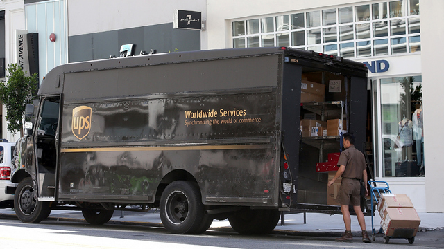 UPS will charge more for Christmas shipments