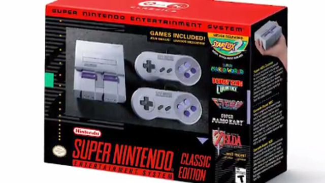 Nintendo announces Super NES Classic Edition, releasing September 29