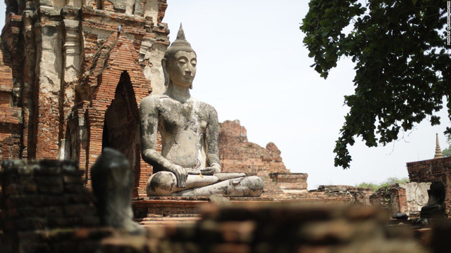 Trip to Ayutthaya, Thailand, recalls glory days of old Siam