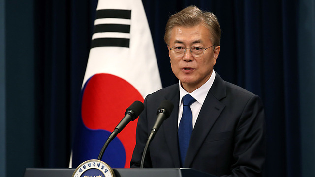 No nuclear weapons in South Korea, Moon says