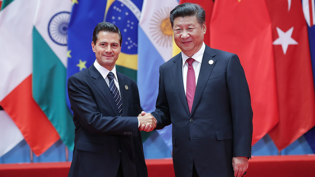 Spurned by Trump, China and Mexico talk about a trade deal